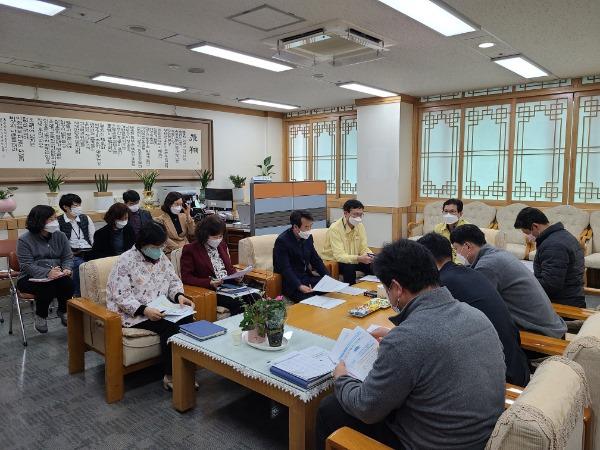 [평생교육과] 평생교육원 주요업무 추진현황 점검 및 신속집행 회의1.jpg
